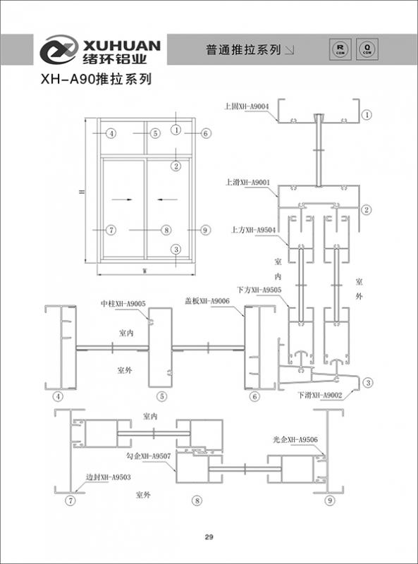 XH-A90推拉系列