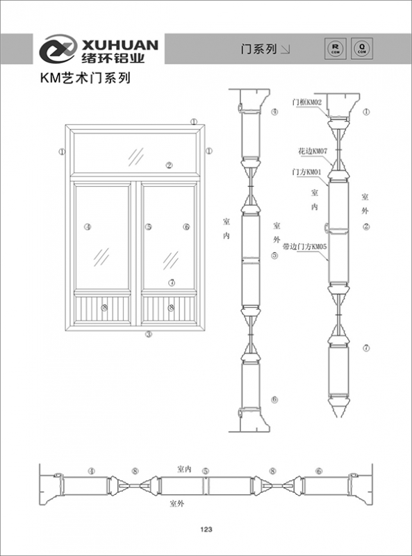 KM艺术门系列